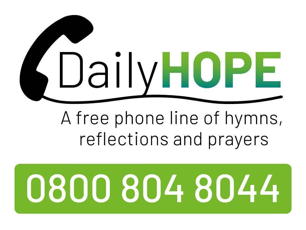 DailyHope Phone Line - 0800 804 8044