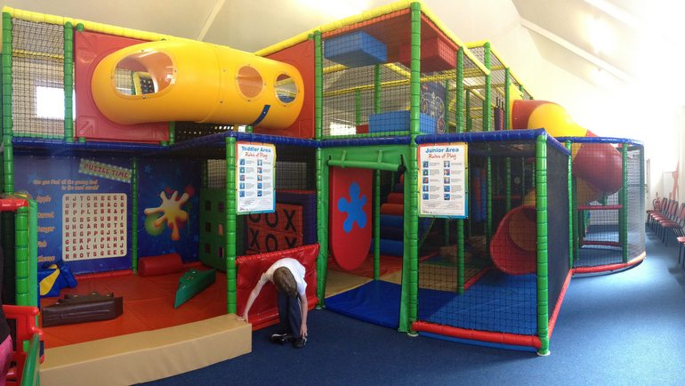 The Soft Play Area in The Hub