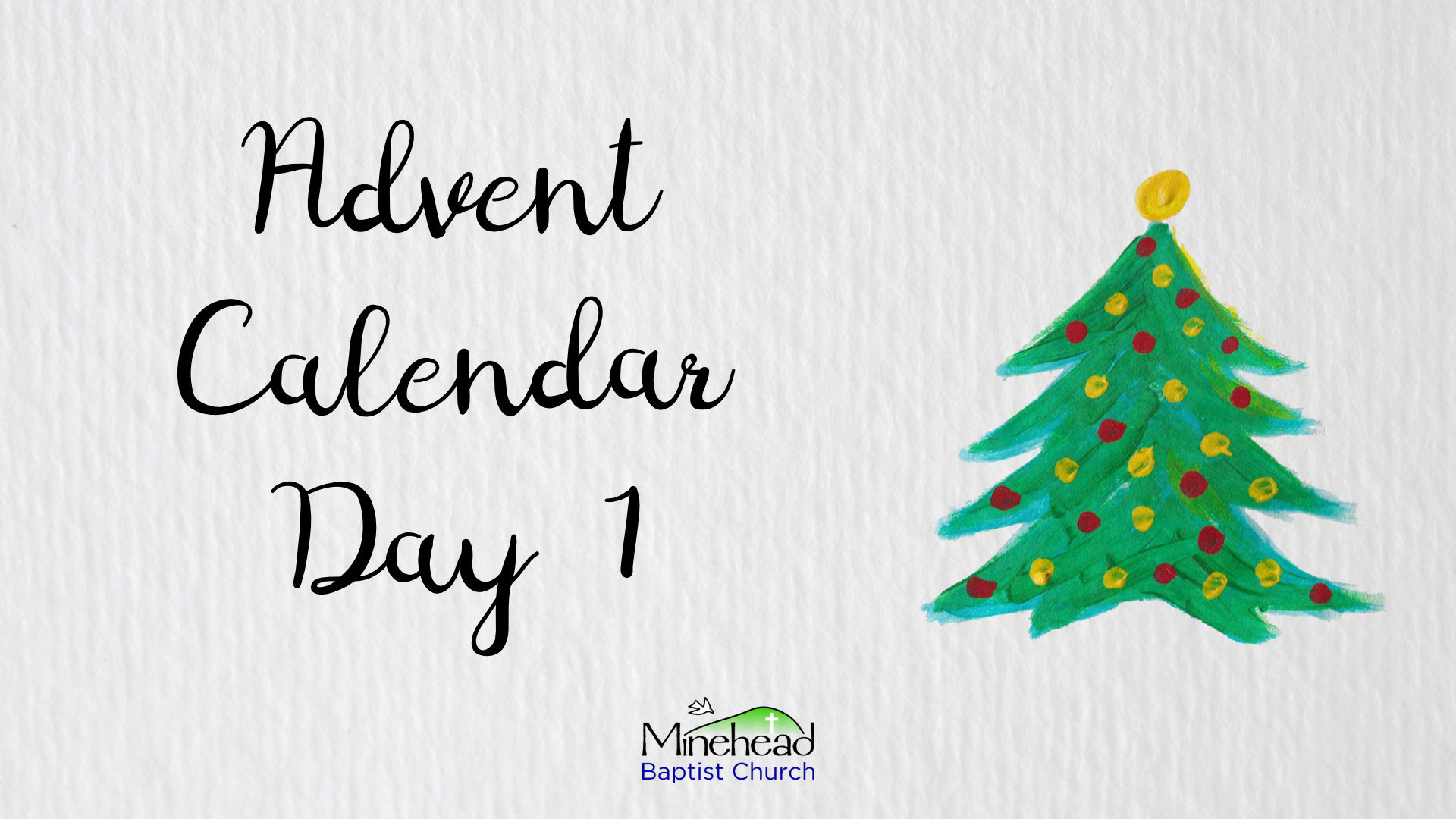Advent Calendar Day 1