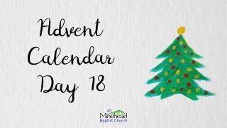 Advent Calendar Day 18