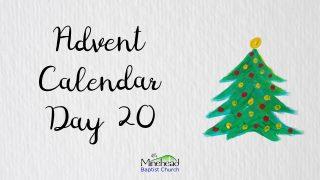 Advent Calendar Day 20