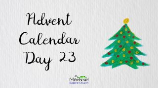 Advent Calendar Day 23
