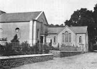 Minehead Baptist Church in 1900
